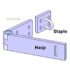 Hasp staple